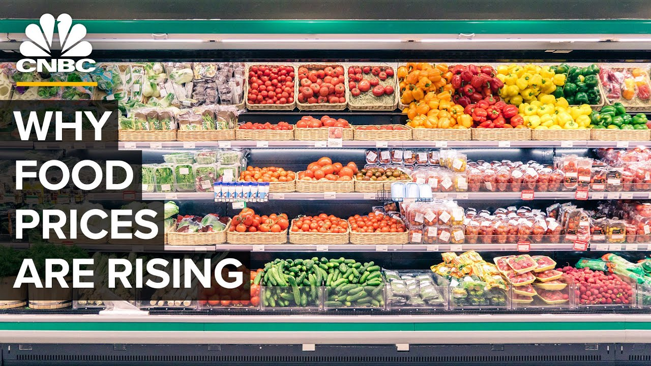 Why Food Is Getting More Expensive In The US
