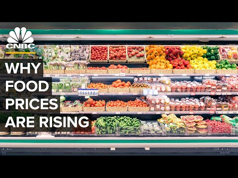 Why Food Is Getting More Expensive In The U.S.