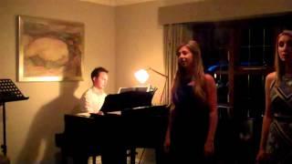 Eleanor Nash and Lara Rebekah Harvey sing Nella Fantisia by Morricone
