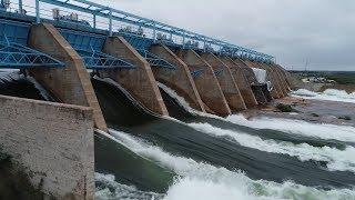 When dam floodgates on the Colorado River open in Central Texas