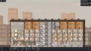 Większe mieszkania i... problemy z forsą - Project Highrise #3