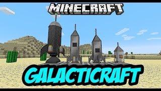 GalactiCraft Космическое приключение / Выживание в Minecraft с модами (GalactiCraft 1.7.10)