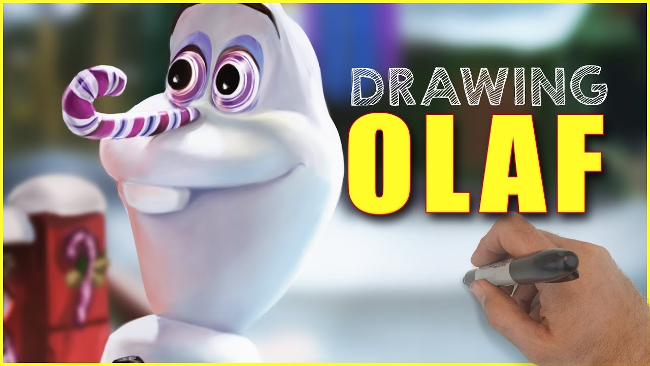 Drawing Olaf 39 s Frozen Adventure