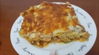[14.36 MB] Reteta simpla de Lasagna cu sos Bechamel de casa