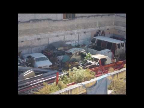 Classic American Barn Find Cars in Mexico City Video 2