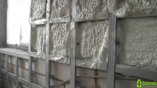 Теплоизоляция для стен изнутри  Как утеплить стены(Заказчик обратился в нашу компанию с вопросом, как утеплить стены из газобетона? Команда специалистов..., 2014-05-15T07:19:56.000Z)