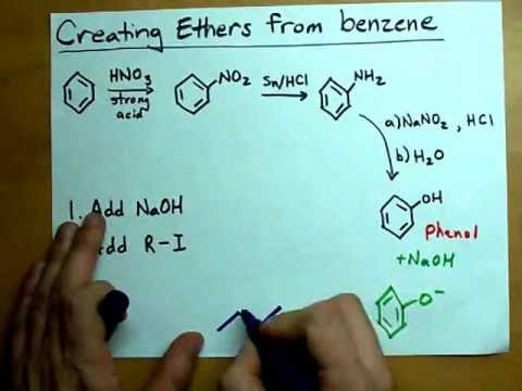 Creating Ethers From Benzene (Phenyl Ethers)