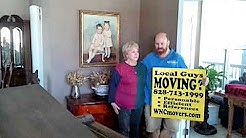 GRAND PIANO MOVED BY Asheville Moving Company in Hendersonville, NC!