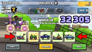 Hill Climb Racing 2 - 32305 points in PATIENCE Team Event