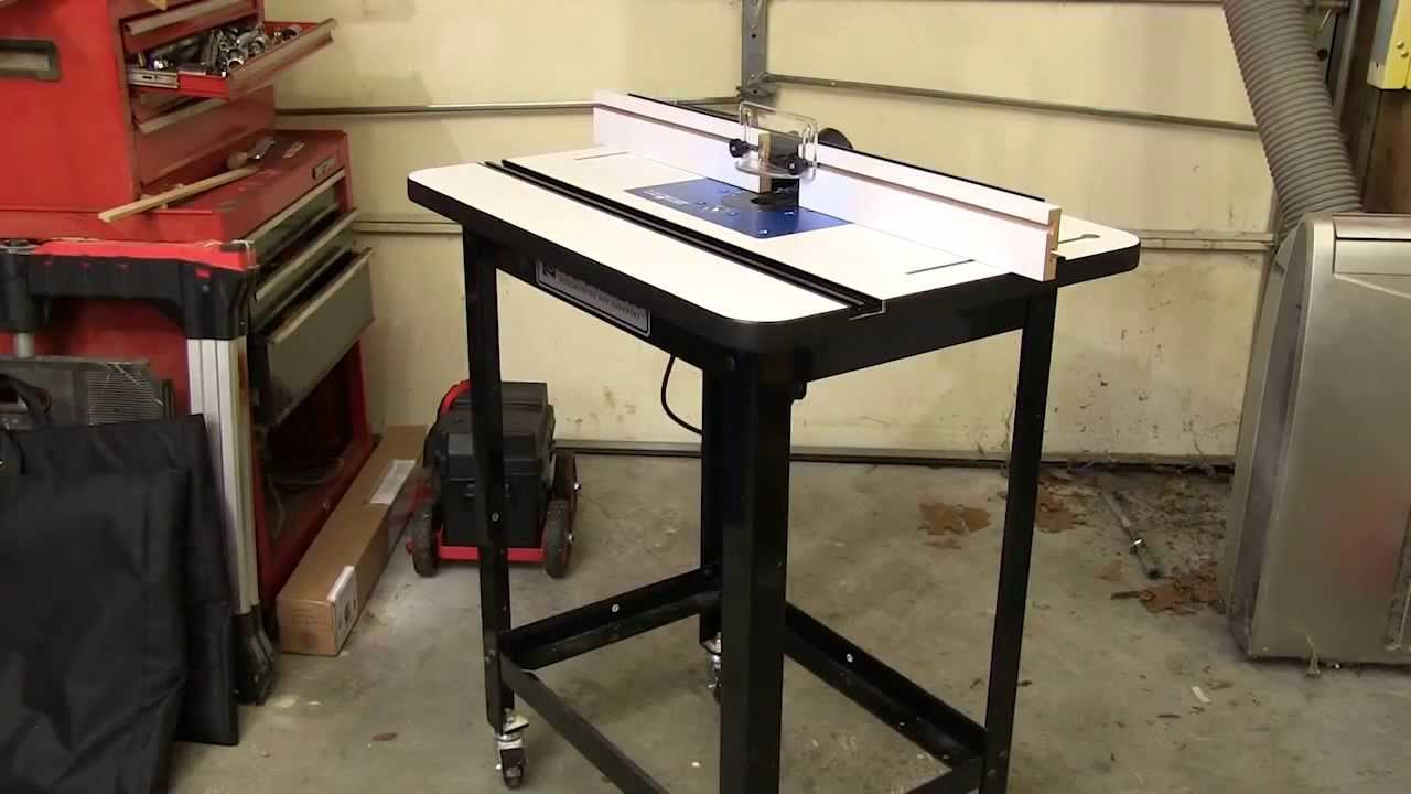 Rockler router table package with accessories review rockler router table package with accessories review newwoodworker youtube keyboard keysfo Images