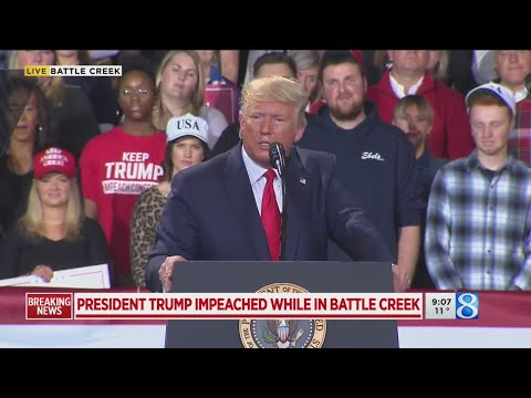 FULL VIDEO: President Donald Trump Campaign Rally In Battle Creek