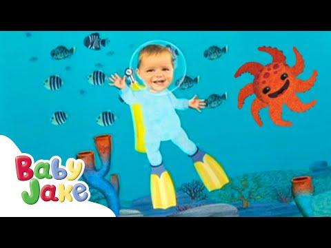 Baby Jake - Under Water Adventures | Full Episodes | Yaki Yaki Yogi | Cartoons for Kids