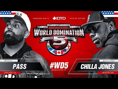 KOTD - Rap Battle - Pass vs Chilla Jones | #WD5