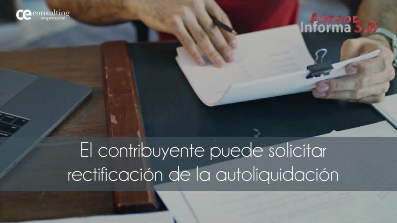 Hacienda: Rectificación de la autoliquidación con la inspección iniciada | Asesor Informa 3.0