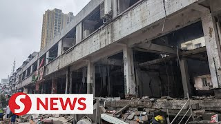 Search, rescue operations underway as gas explosion kills 12 in Hubei, China