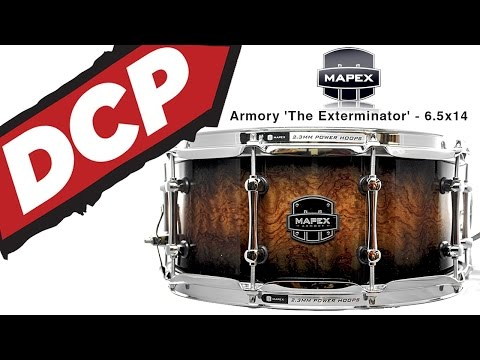 Video Demo: Mapex Armory 'The Exterminator' Snare Drum 6.5x14