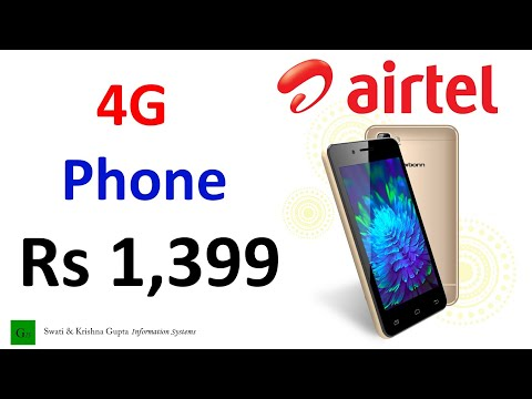 [Hindi,हिन्दी] Airtel Rs 1399 4G Smartphone (Karbonn A40) Plans, Hidden Charges & All Details !!!