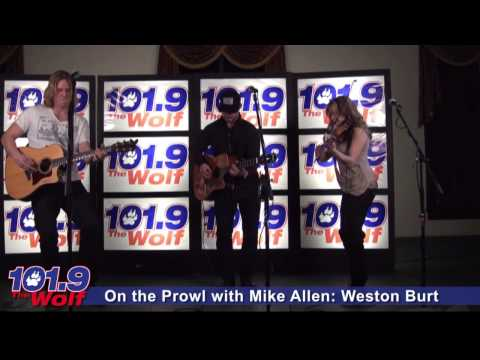 On The Prowl with Mike Allen: Weston Burt