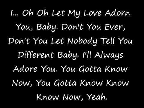 Adorn Lyrics (On Screen)