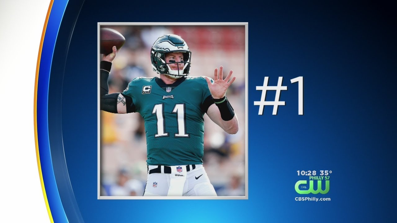 differently 2fac4 6530f NFL Shop: Carson Wentz Jersey Ranked No. 1 In Overall Sales For The Year