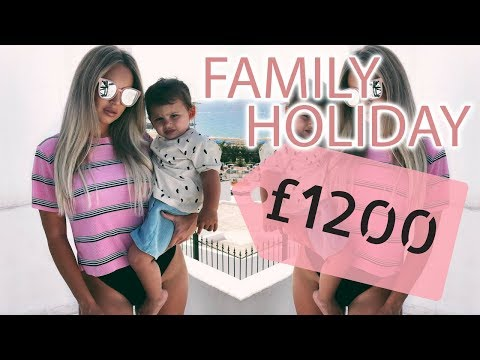 FAMILY HOLIDAY ON A BUDGET | TIPS FOR TRAVELLING WITH KIDS | Lucy Jessica Carter