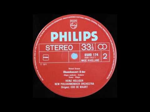 Richard Strauss   Oboe Concerto D Major, Heinz Holliger, Oboe