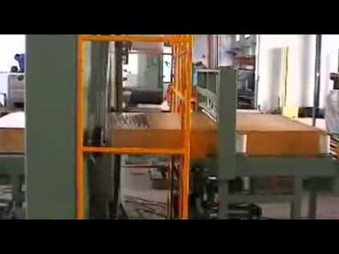 Automatic cut film profile wrapping machine—Guangzhou Guonuo