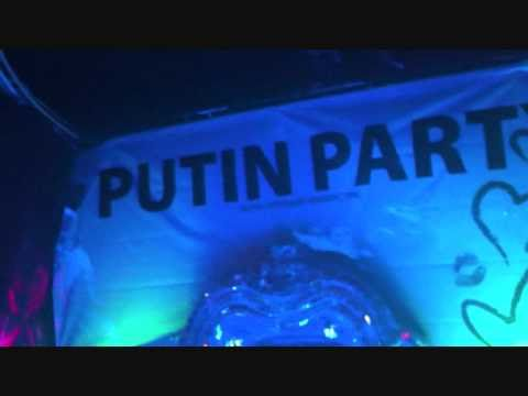 P Party in Club RAI in Moscow