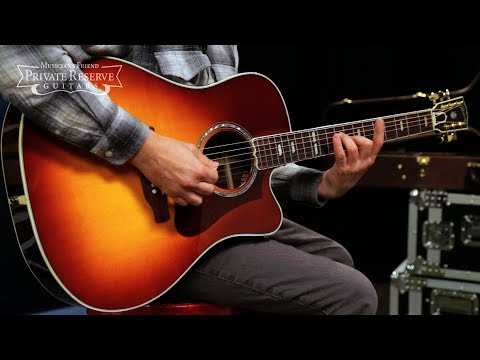 Gibson 2018 Hummingbird Supreme AG Acoustic-Electric Guitar