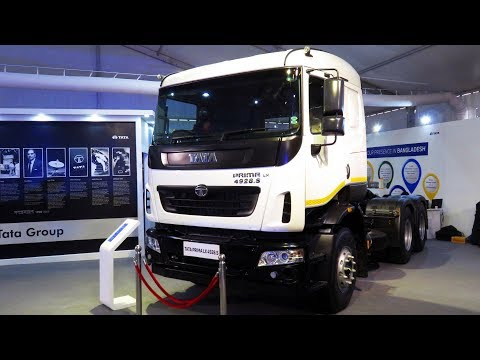 All New TATA Prima LX 4928 S SRT First Time in Bangladesh