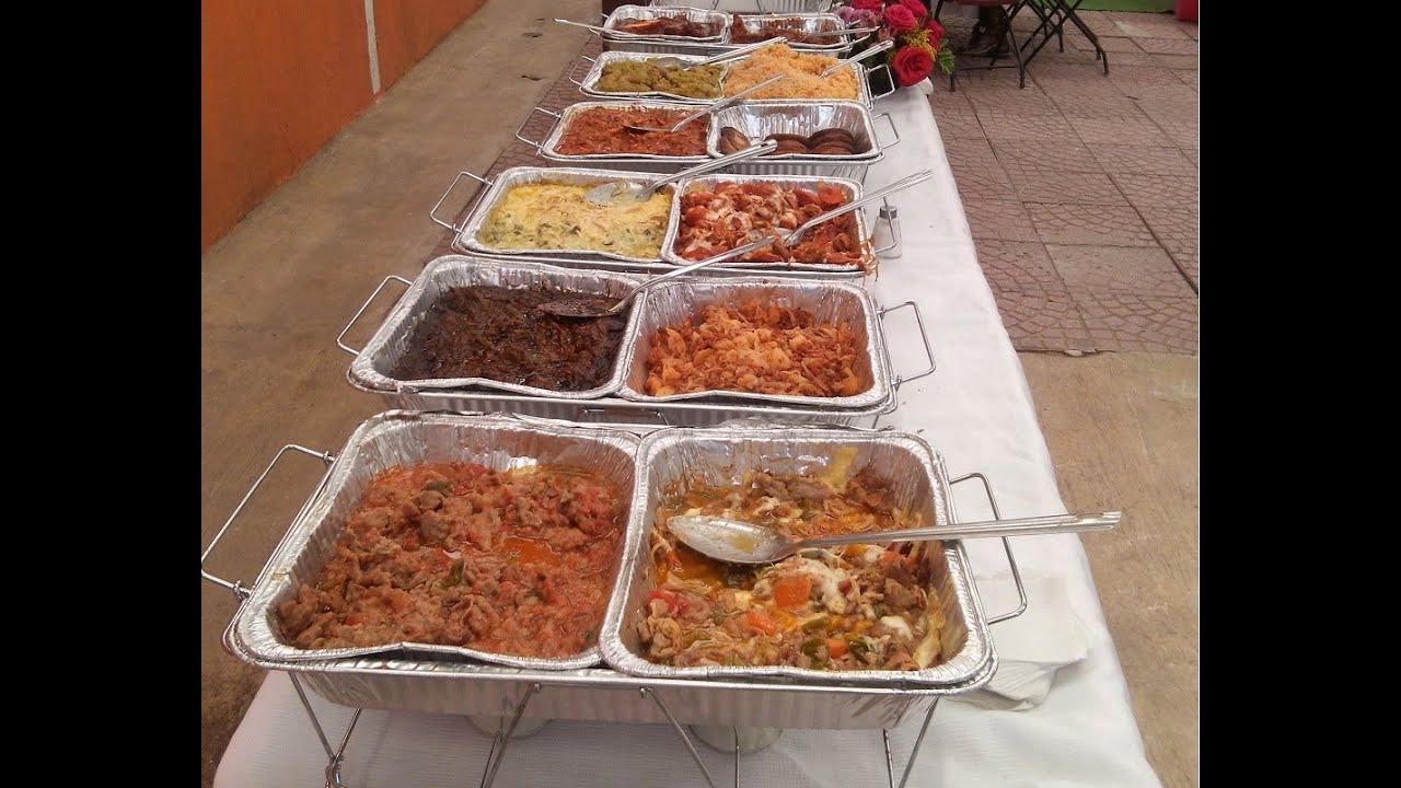 TACOS DE GUISADOS taquizas banquetes buffet fiestas