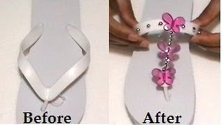 Decorating Flip Flops