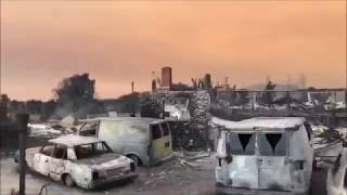 Weather War Terrorism; Laser Torched Smart Fires, SoCal
