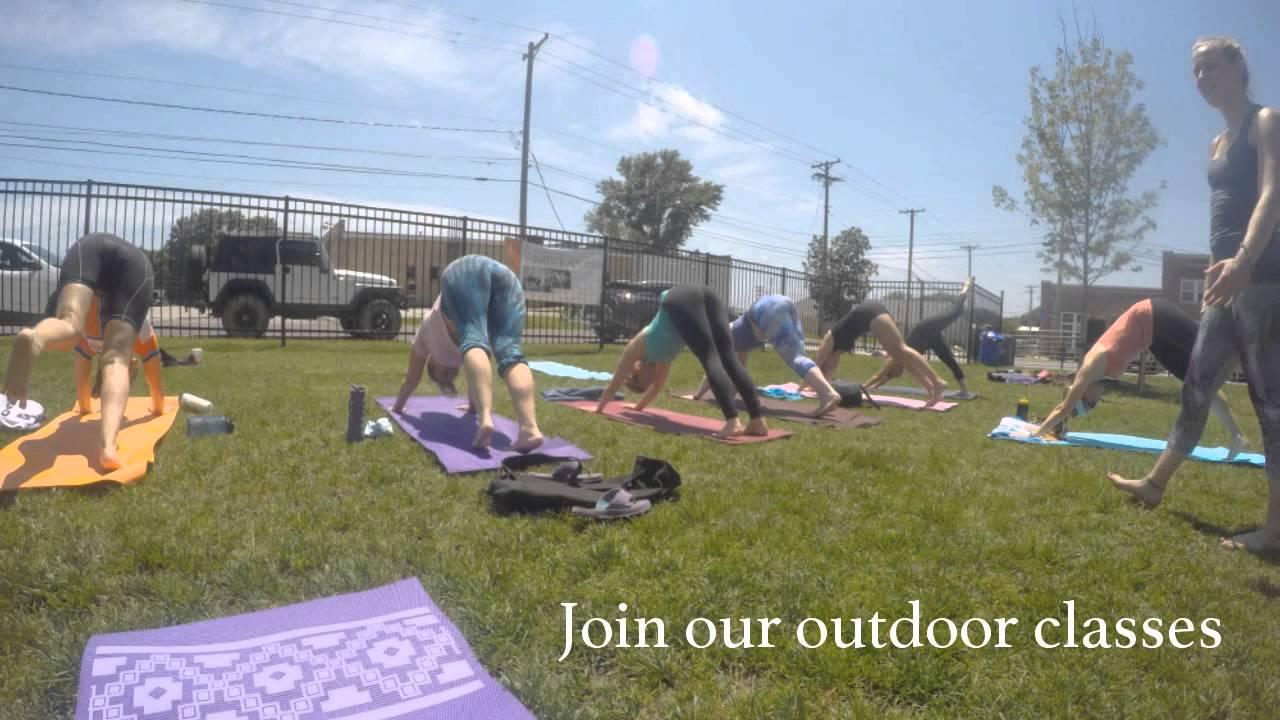 Logboat Brewery Outdoor Yoga- Sumits Hot Yoga Columbia, MO ...