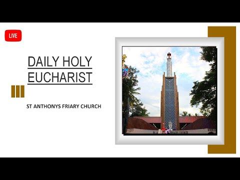 5th July | Sunday | English Mass | Live | St Anthony's Friary Church | Bangalore