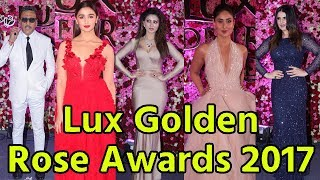 Red Carpet Of Lux Golden Rose Awards 2017 | Deepika, Katrina, Kareena, Alia Bhatt, Sridevi, Madhuri