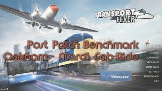 Transport Fever: Beta Performance Patch Benchmark