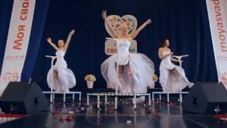 ProJumping (фитнес на батутах) свадебная выставка дворец спорта Минск