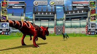 Tyrannosaurus VS Dryosaurus - Jurassic Park Builder JURASSIC Tournament Android Gameplay
