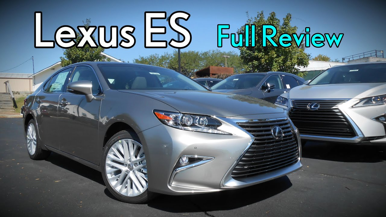 2017 lexus es full review es 350 300h hybrid youtube. Black Bedroom Furniture Sets. Home Design Ideas