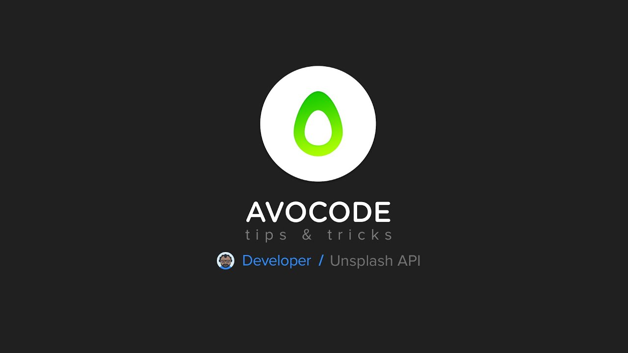 Avocode Tips & Tricks - Developer - Unsplash API