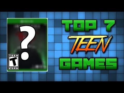 THE BEST TEEN RATED GAMES