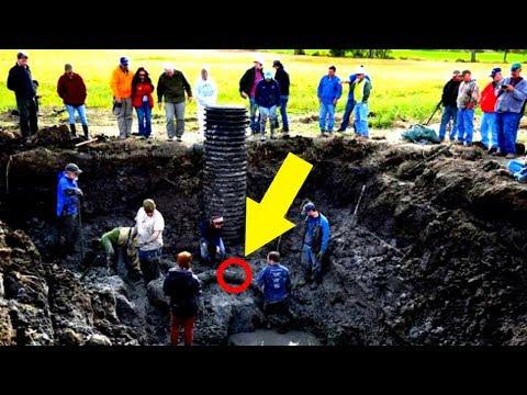Landwirt entdeckt etwas im Boden und gräbt, sein Fund ist atemberaubend!