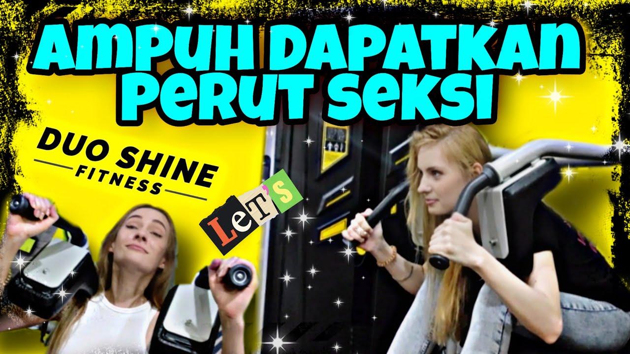 Cara Ampuh Dapat Perut Seksi & Rata Bagi Pemula Saat Latihan Di Duo Shine Fitness Ala Nastasya Shine