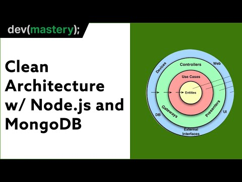 Using Clean Architecture for Microservice APIs in Node.js with MongoDB and Express