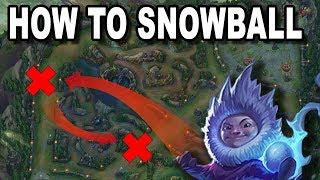 How to Snowball | Wie beendet man ein Spiel? [Guide/Deutsch]