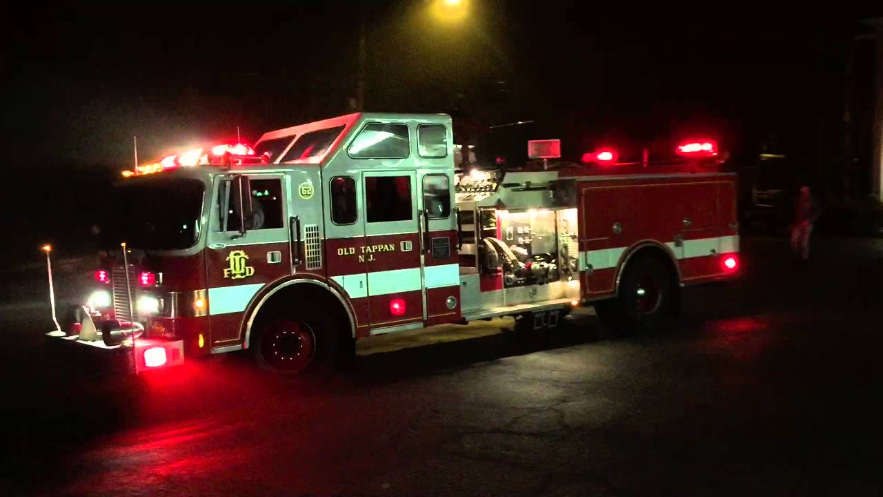 Old Tappan Nj Fire Department Double Car Fire Youtube