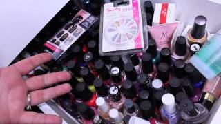 Diy: Nail Polish Storage + (vanity Decor)