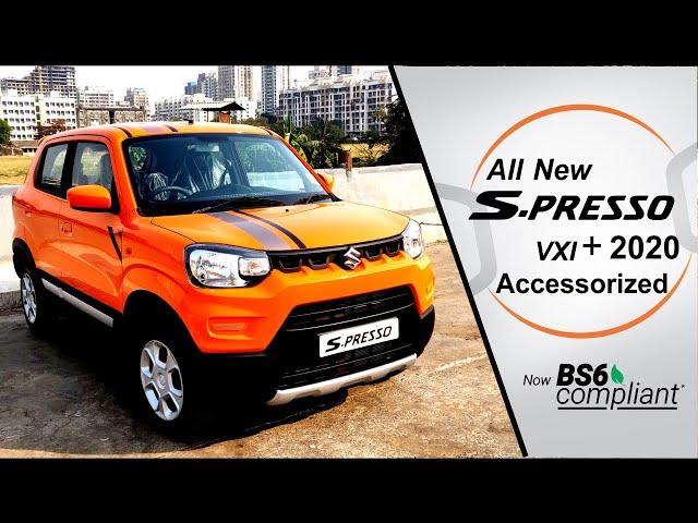 Maruti Suzuki New S-Presso 2020 VXI + AMT BS6 - Accessorise