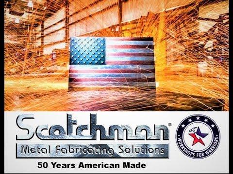 Scotchman Hydraulic Ironworker 50 Years USA Made Fabrication Equipment